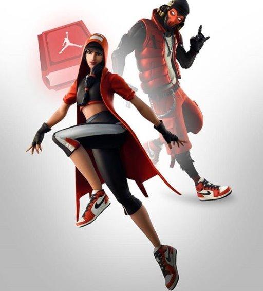 Fortnite X Jordan konsept karakter tasarımı.