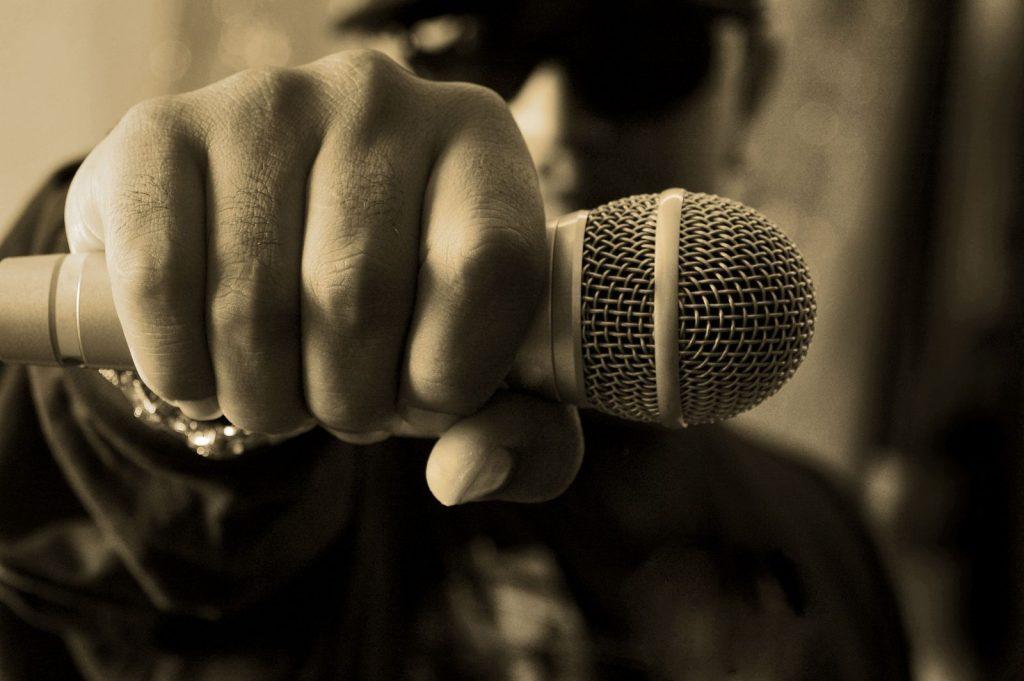 hip hop nedir mikrofon