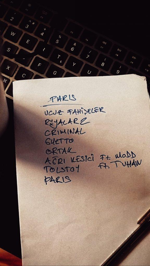 Tepki Paris Albümü