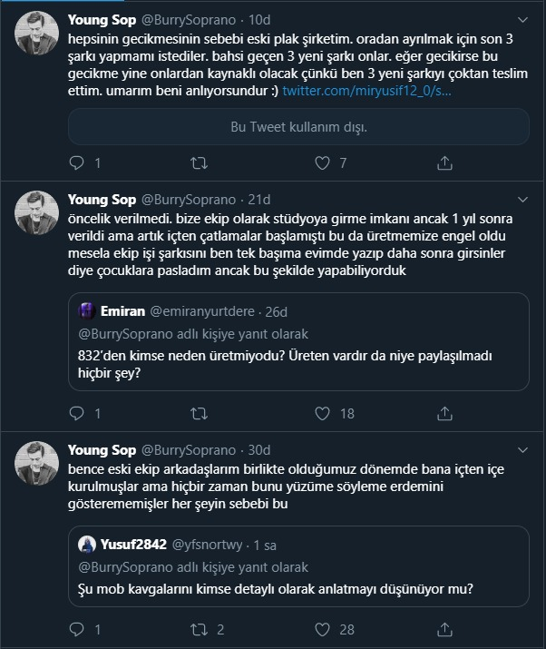 Burry Soprano Attığı Tweet'ler