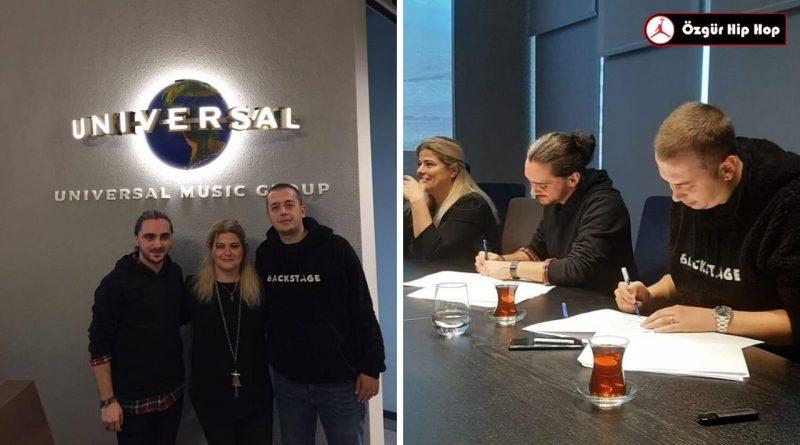 Hasip Aksu ve Lider, Universal Müzik İle Anlaştı