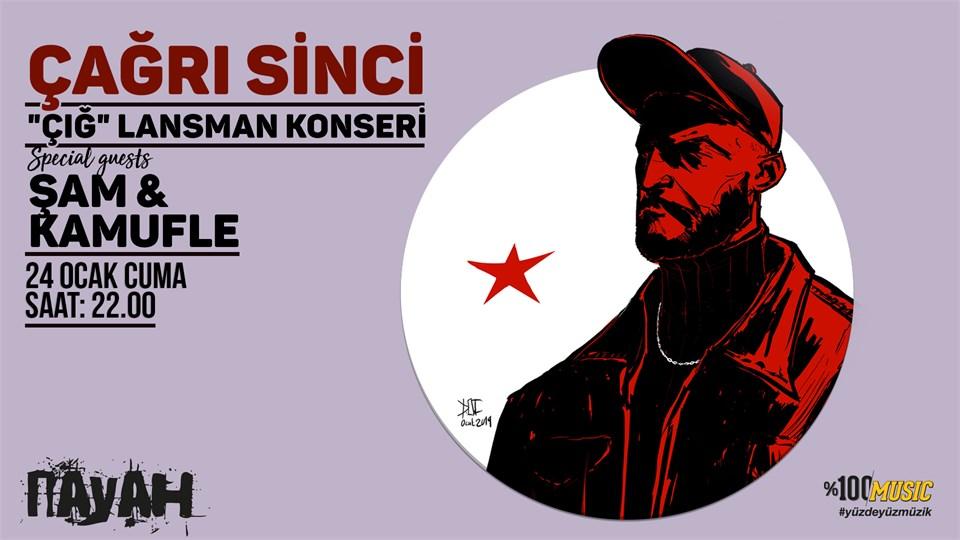 24 Ocak 2020 Çağrı Sinci İstanbul Konseri