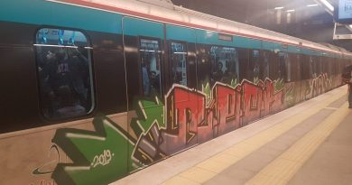Marmaray Graffiti