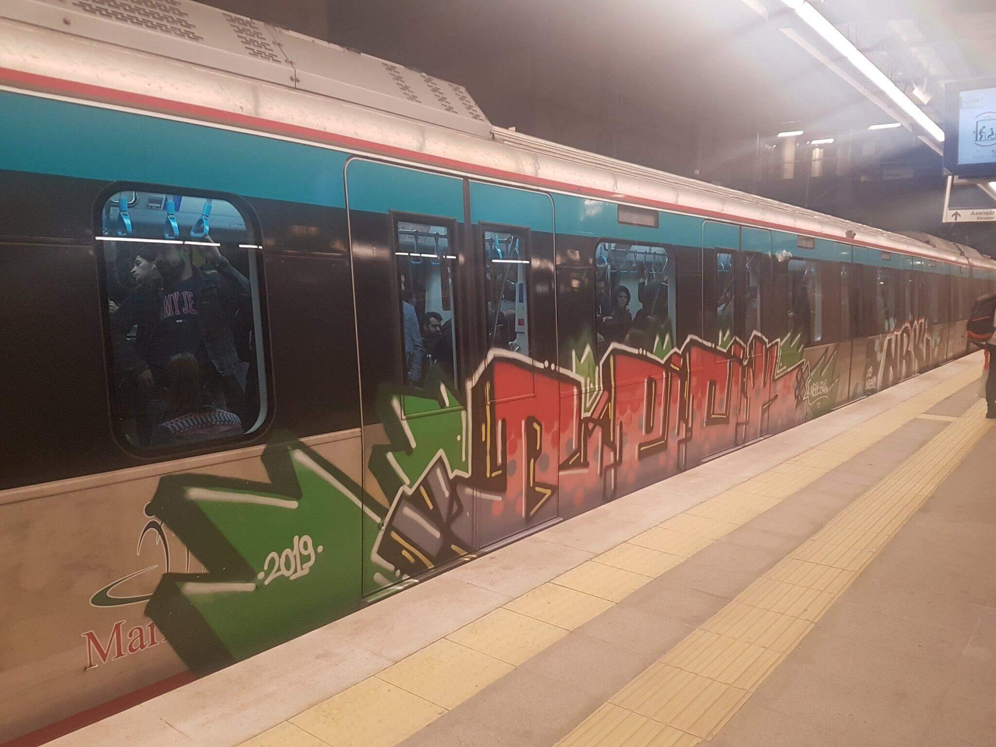 Marmaray Graffiti