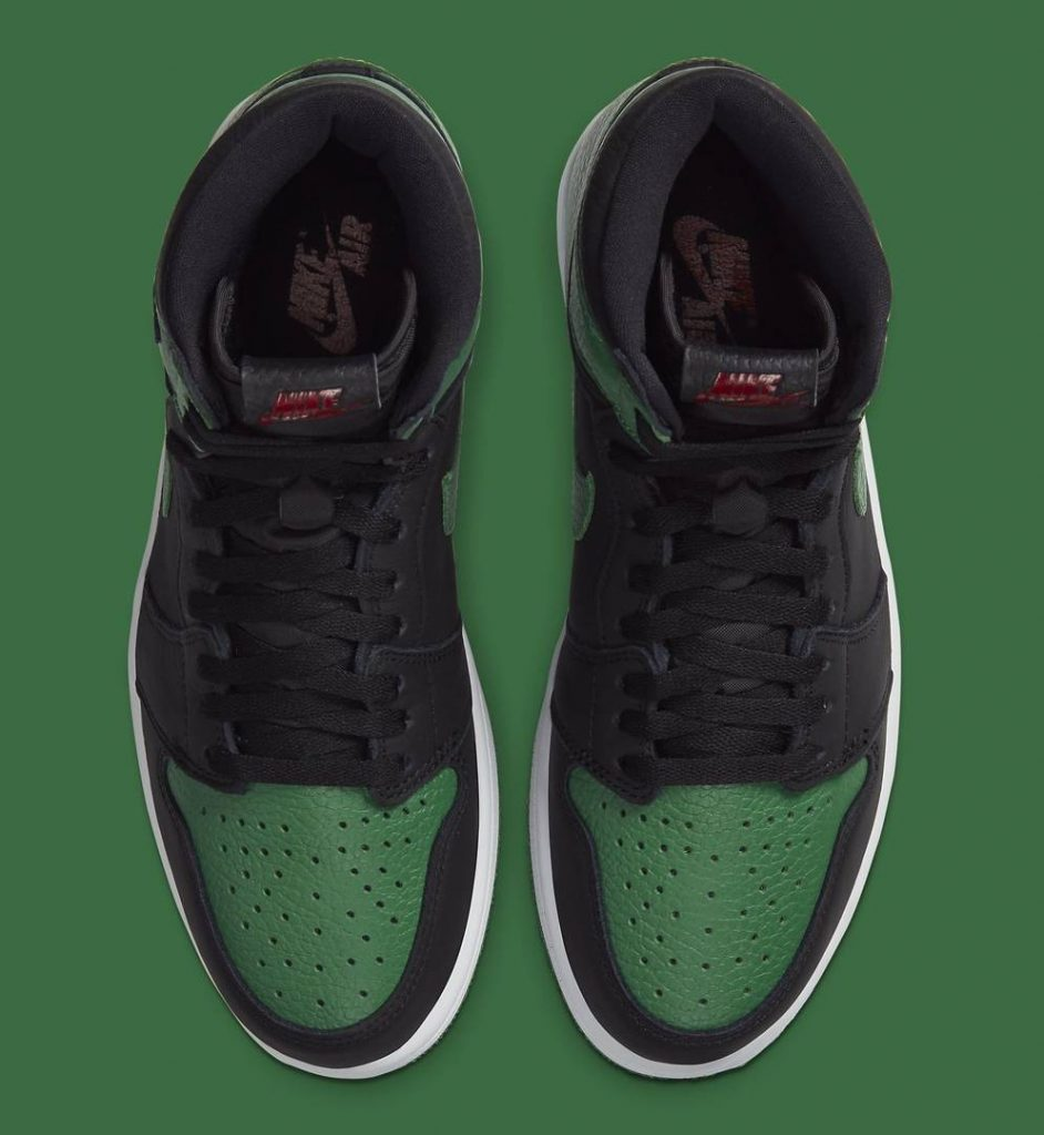 Air Jordan 1 Çam Yeşili Versiyonu Yolda