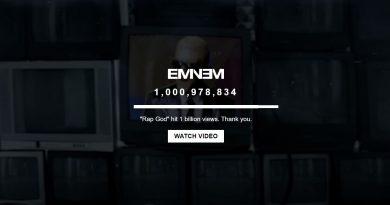 Rap God YouTube'da 1 Milyar Görüntülenmeye Ulaştı