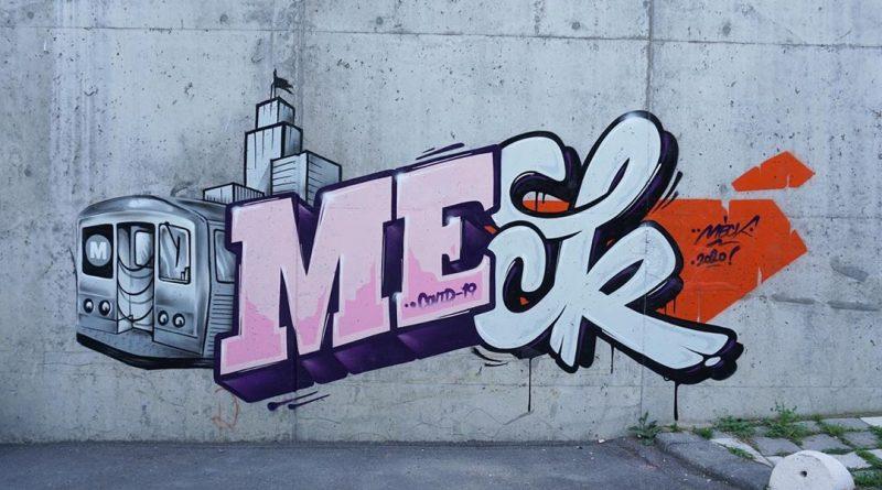 Meck'den F*ck Corona Graffiti'si