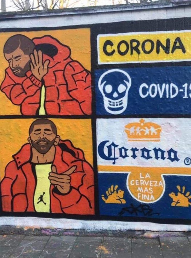 Drake Korona Graffiti
