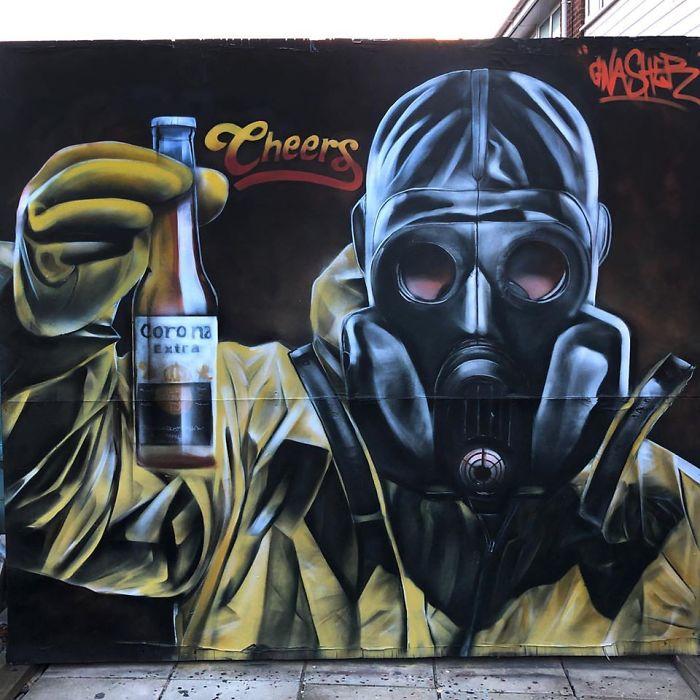 Korona Bira Graffiti