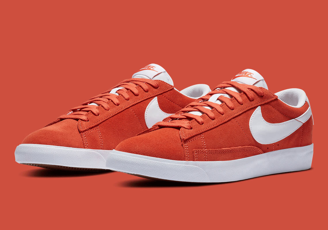 Nike Blazer Low Mantra Turuncusu
