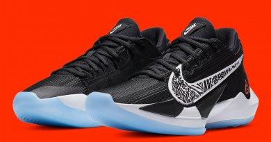 Nike Zoom Freak 2 Siyah/Beyaz modeli
