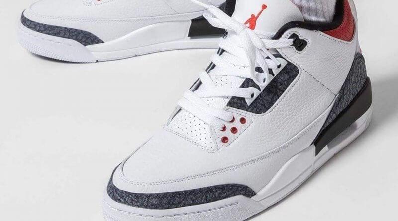 Air Jordan 3 Denim Ateş Kırmızısı Yakında Geliyor