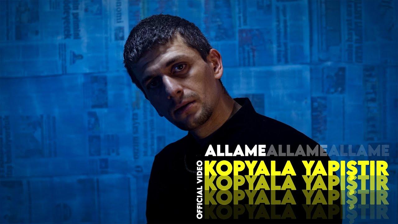 Allame Huzur albümünün ikinci video klibi Kopyala Yapıştır çıktı