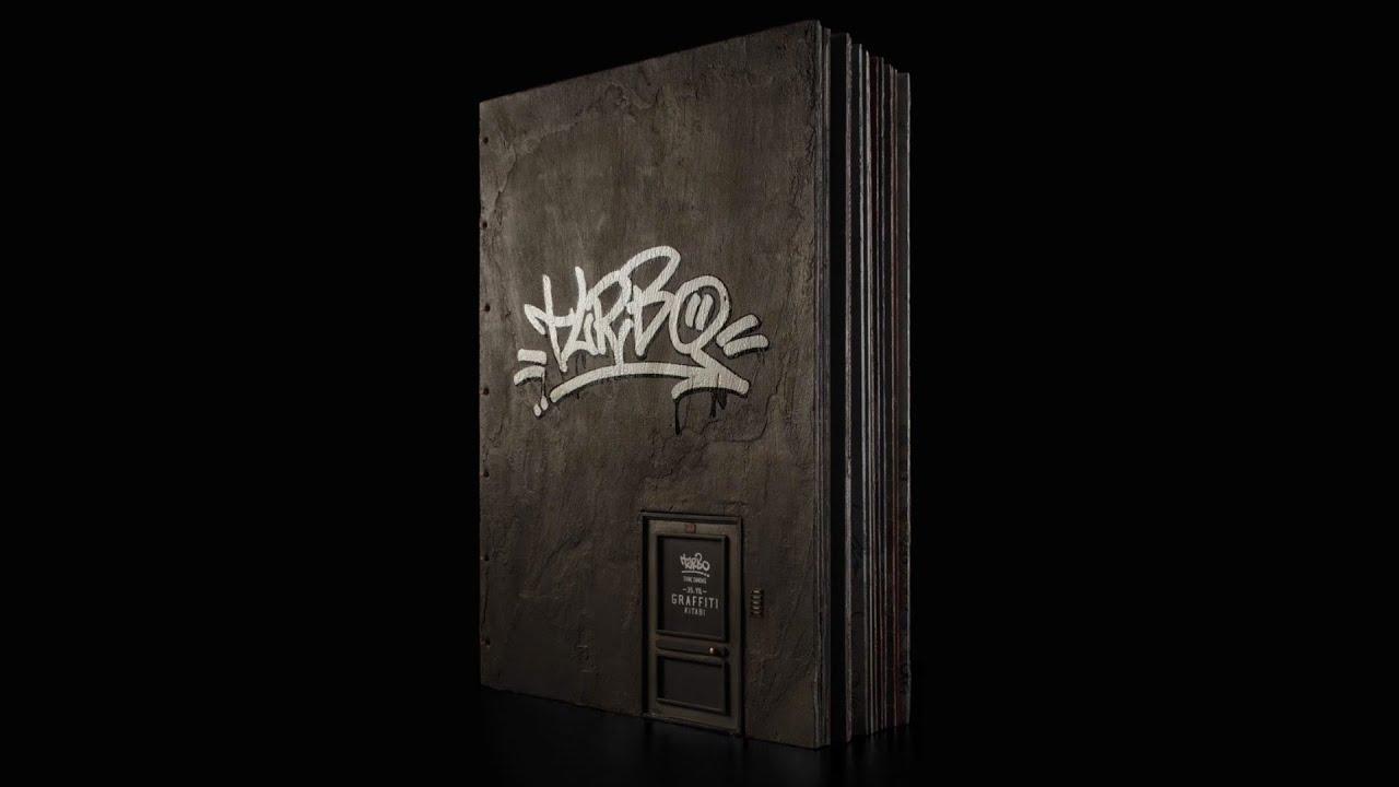 Turbo 35. yılına özel olarak hazırladığı Graffiti kitabı satışa çıktı