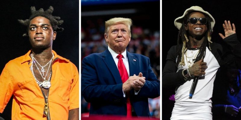 Trump giderayak Kodak Black ve Lil Wayne affetti